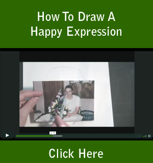 How To Draw A Happy Expression