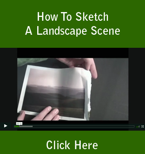 How To Sketch A Landscape Scene