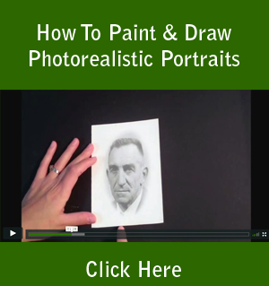 How To Paint & Draw Photorealistic Portraits