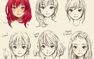 How To Draw A Face 25 Ways