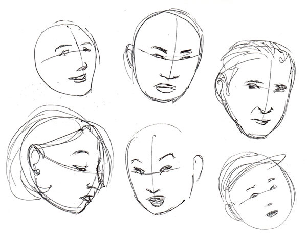 How To Draw Human Faces
