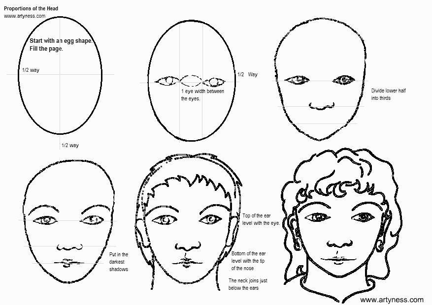 Learn How To Draw Faces
