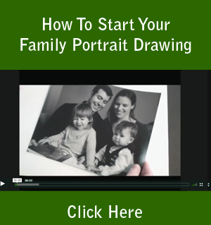 How To Start Your Family Portrait Drawing