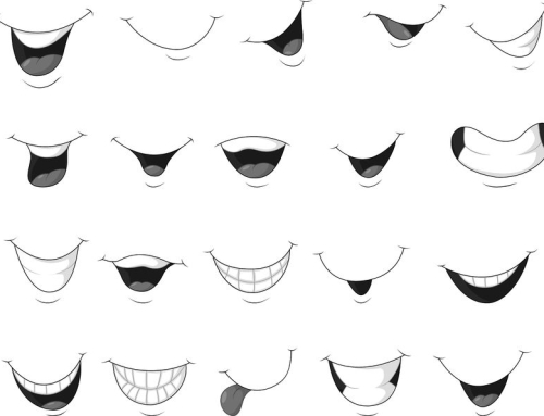How To Draw Expressive Mouths
