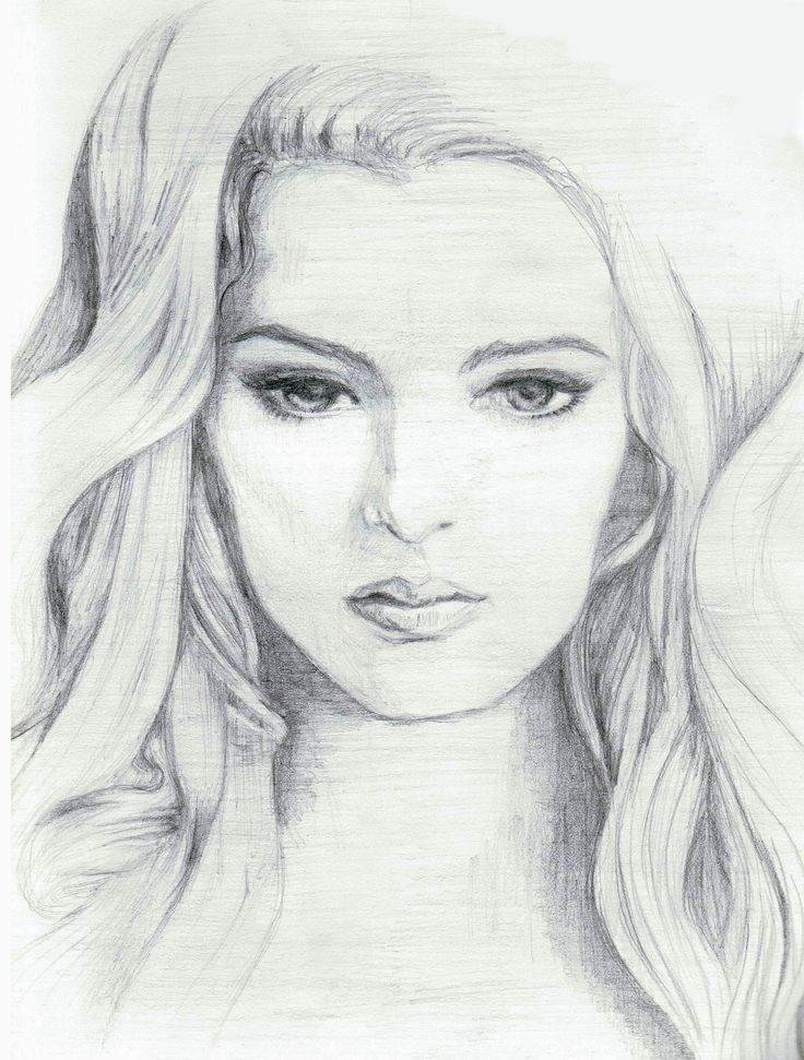 How To Draw A Female Face
